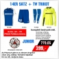 14er Satz Puma Speed Jersey Trikot inkl. GK Shirt Torwarttrikot Junior