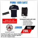 Puma 10er Satz Spirit T-Shirt Training Junior